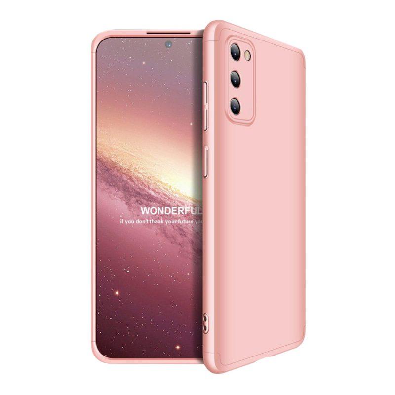 Odolný Full Body kryt na Samsung Galaxy A41 Pink