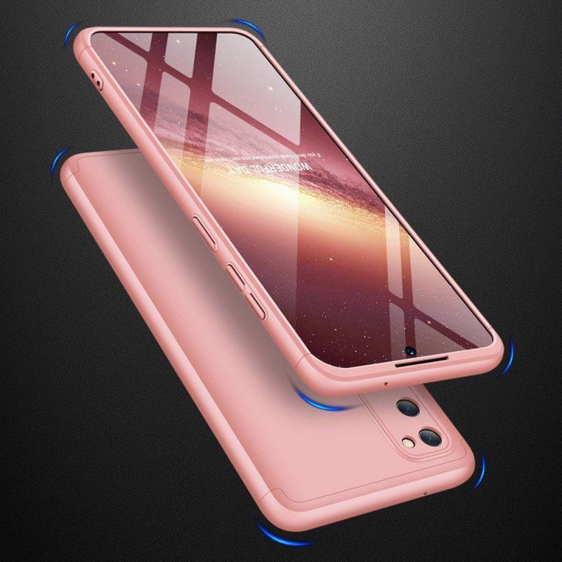 Odolný Full Body kryt na Samsung Galaxy M31s Pink