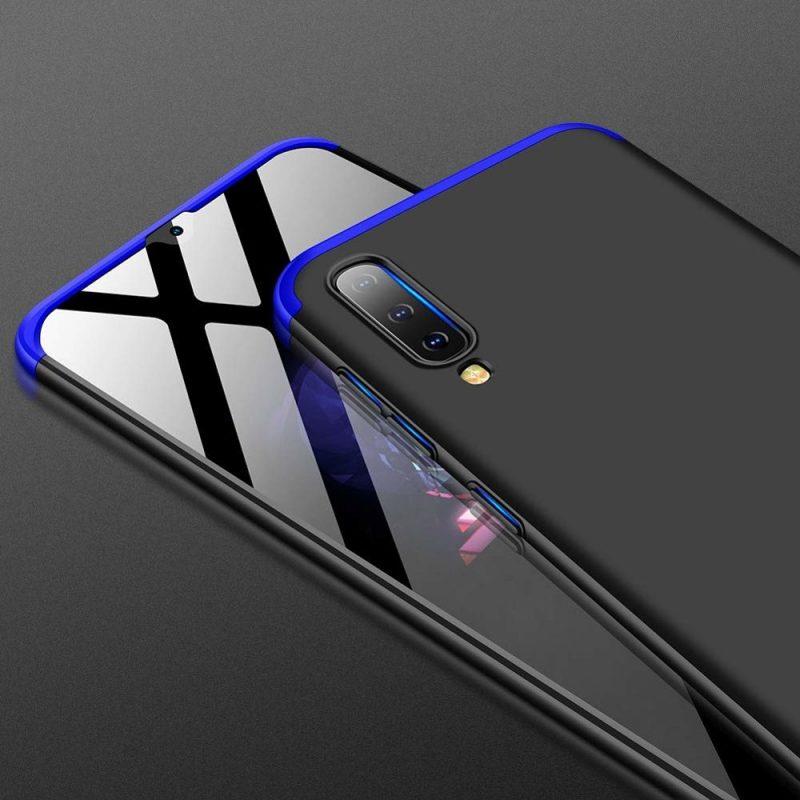 Odolný Full Body kryt na Samsung Galaxy A50 Black-Blue