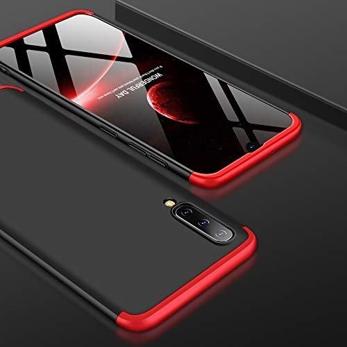 Odolný Full Body kryt na Samsung Galaxy A50 Black-Red