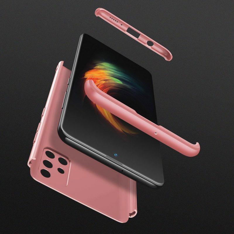 Odolný Full Body kryt na Samsung Galaxy A51 Ružový