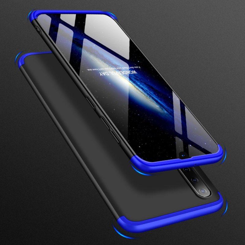 Odolný Full Body kryt na Samsung Galaxy A70 Black-Blue