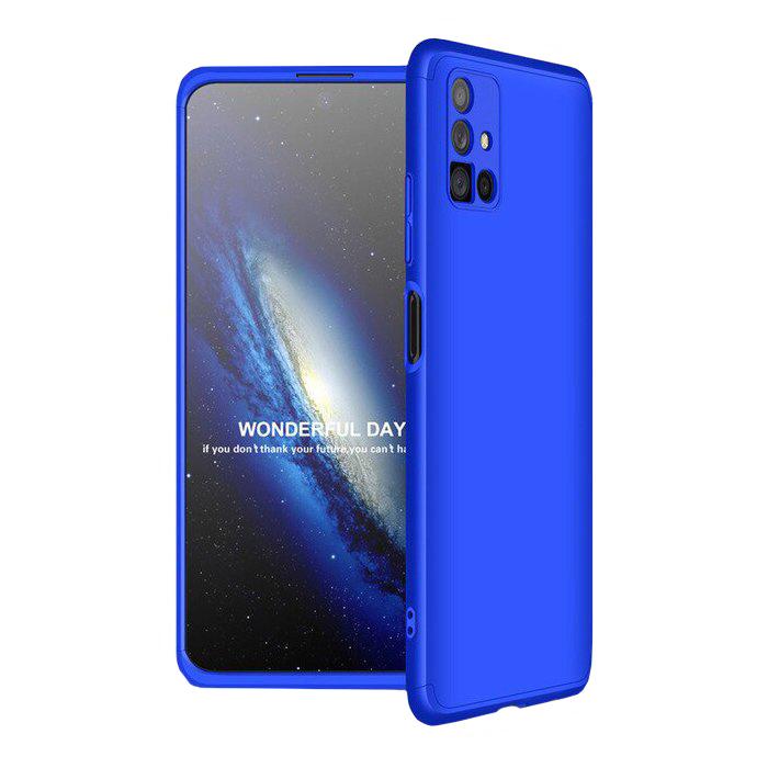 Odolný Full Body kryt na Samsung Galaxy M51 Modrý