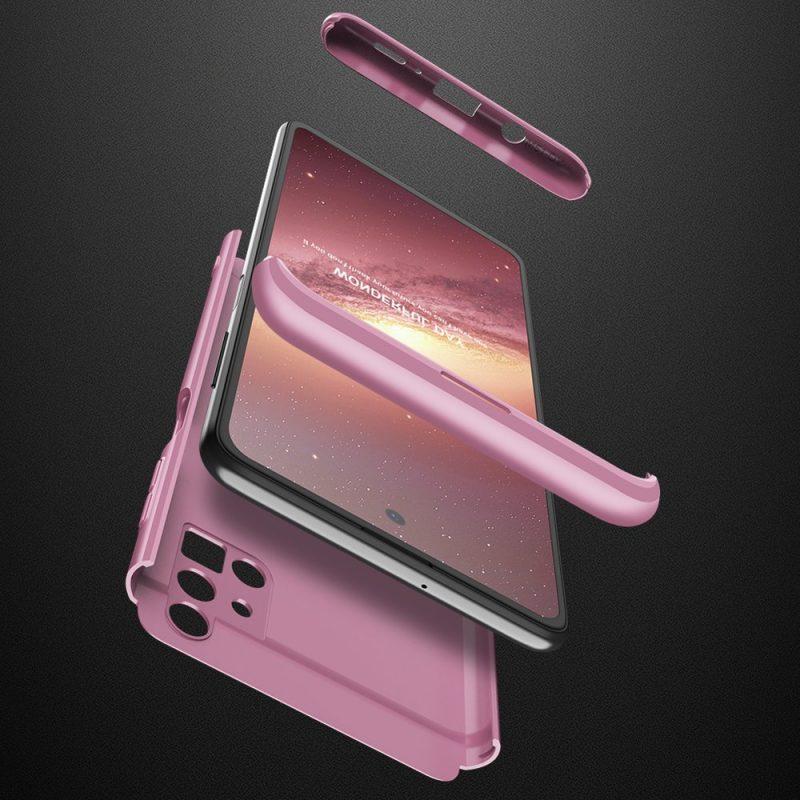 Odolný Full Body kryt na Samsung Galaxy M51 Ružový