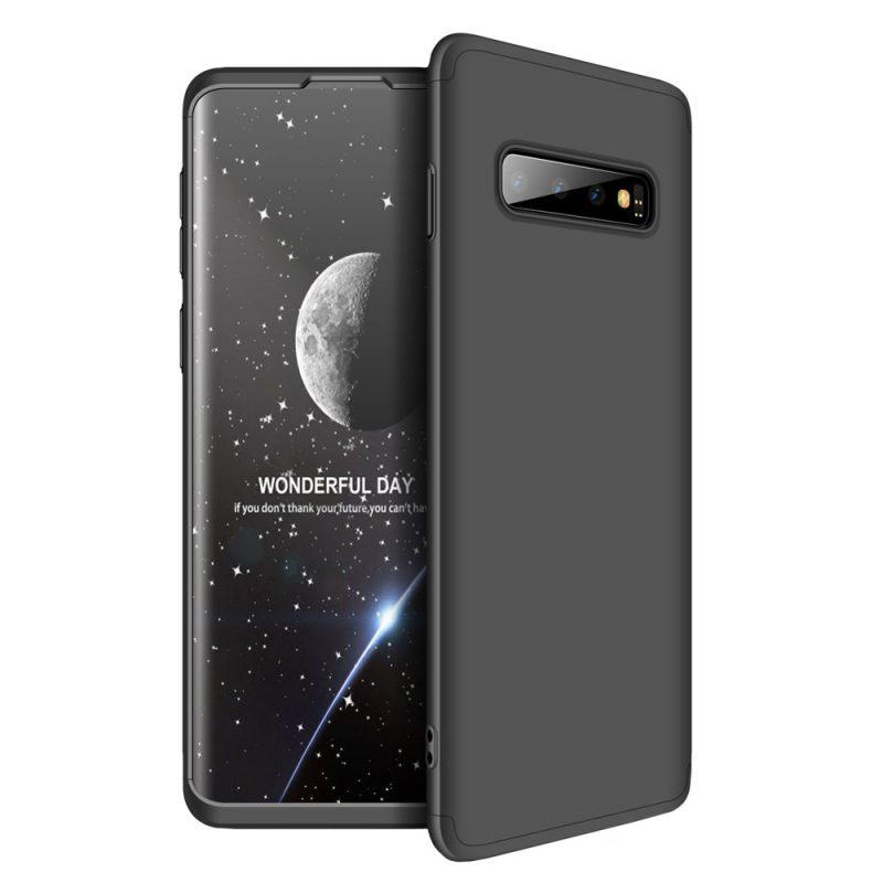 Odolný Full Body kryt na Samsung Galaxy S10 Plus Čierny