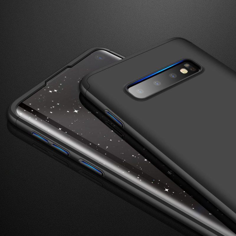 Odolný Full Body kryt na Samsung Galaxy S10 Black