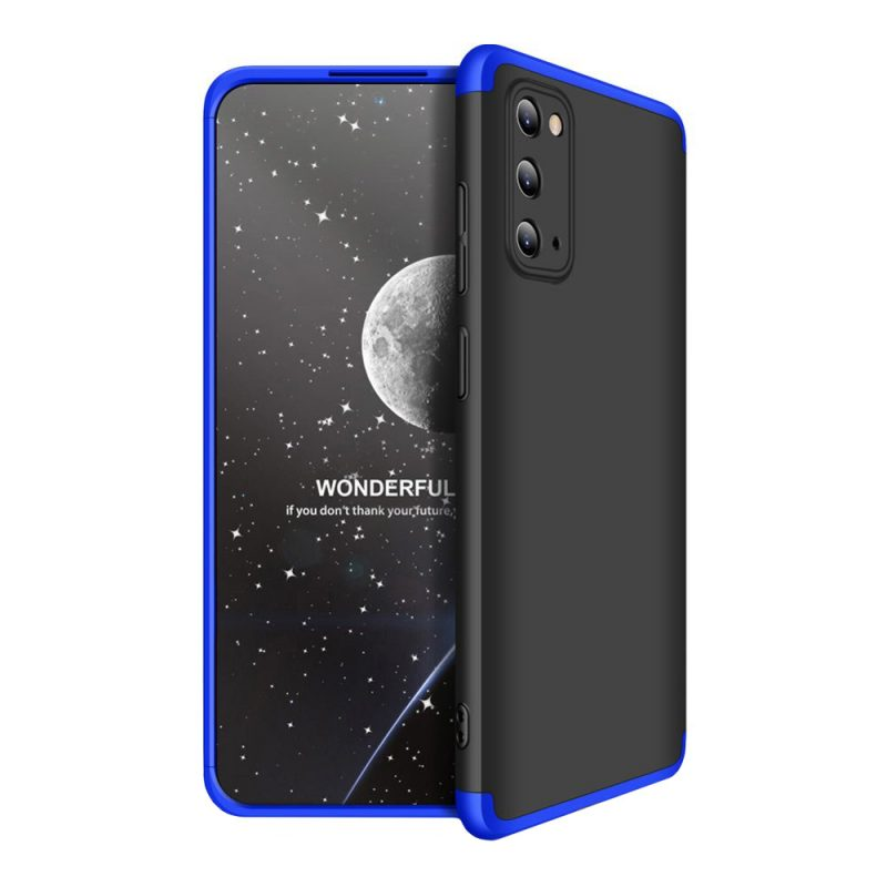 Ochranný Full Body kryt na Samsung Galaxy S20 Black-Blue