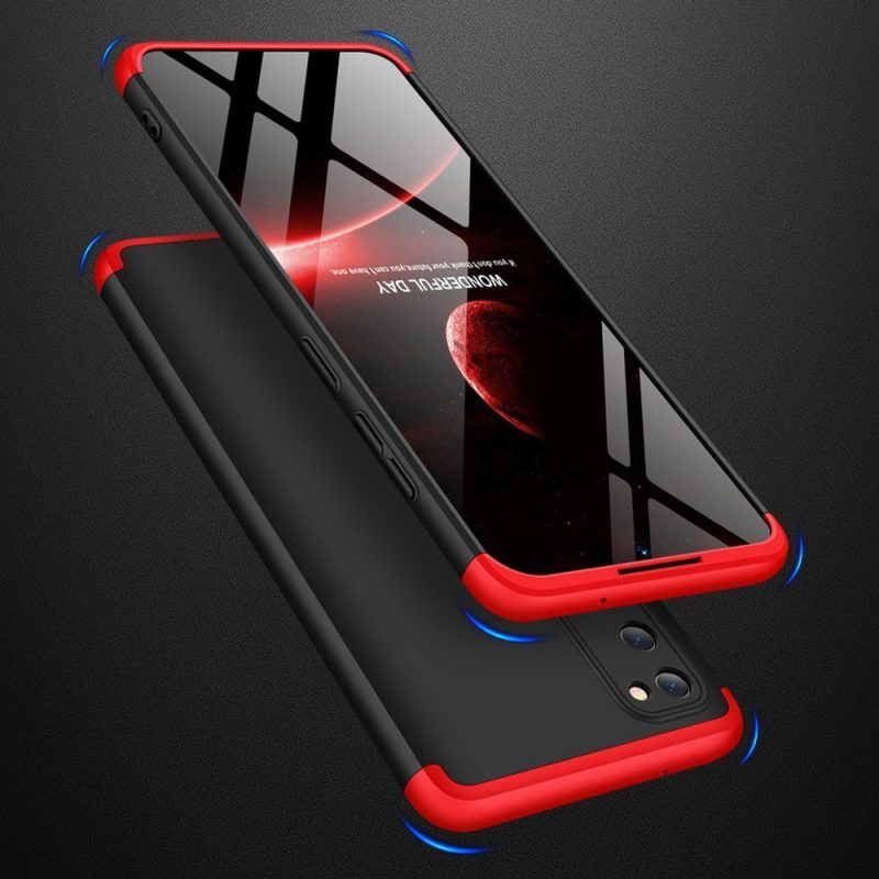 Ochranný Full Body kryt na Samsung Galaxy S20 Black-Red