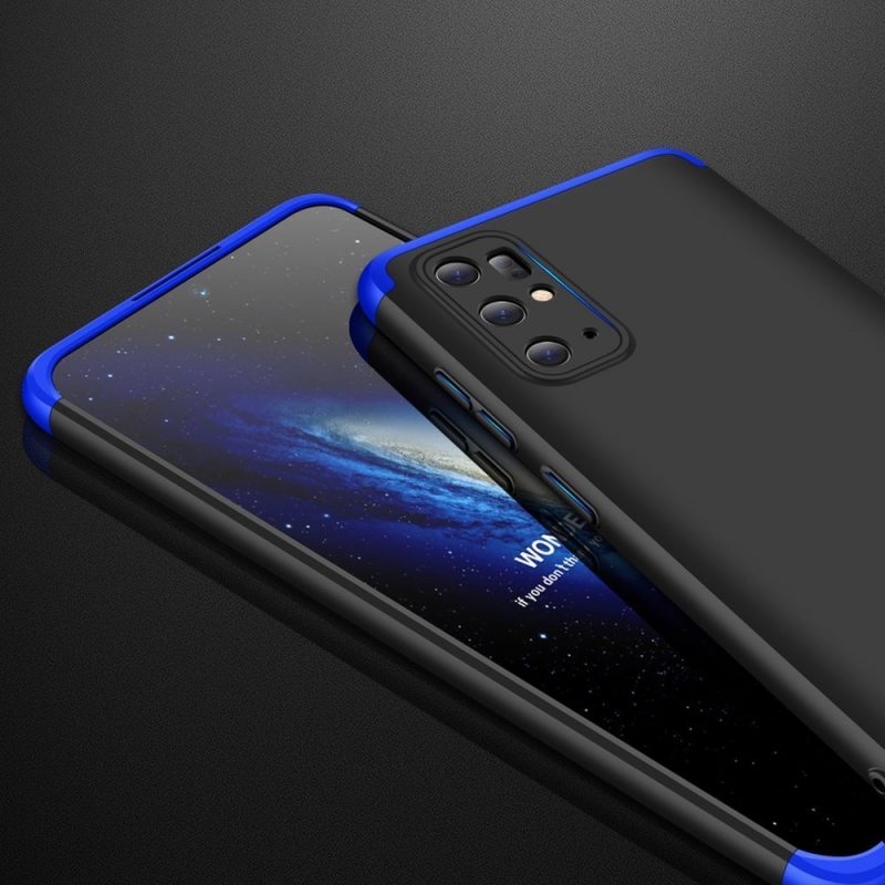 Ochranný Full Body kryt na Samsung Galaxy S20 Plus Black-Blue