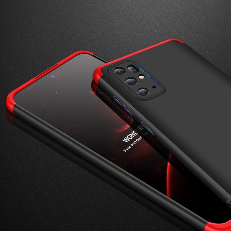 Ochranný Full Body kryt na Samsung Galaxy S20 Plus Black-Red