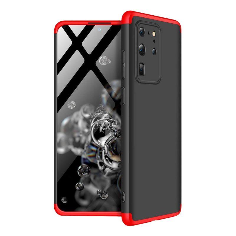 Odolný Full Body kryt na Samsung Galaxy S20 Ultra Black-Red
