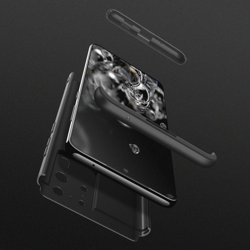 Odolný Full Body kryt na Samsung Galaxy S20 Ultra Čierny