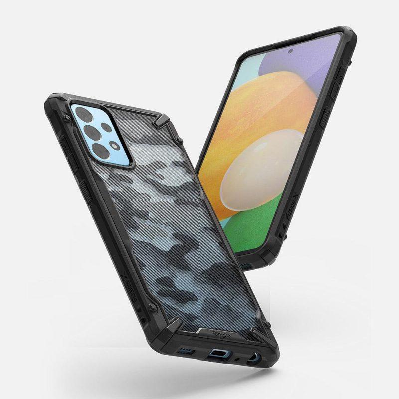 Fusion X Design kryt na Samsung Galaxy A52 Camo Black