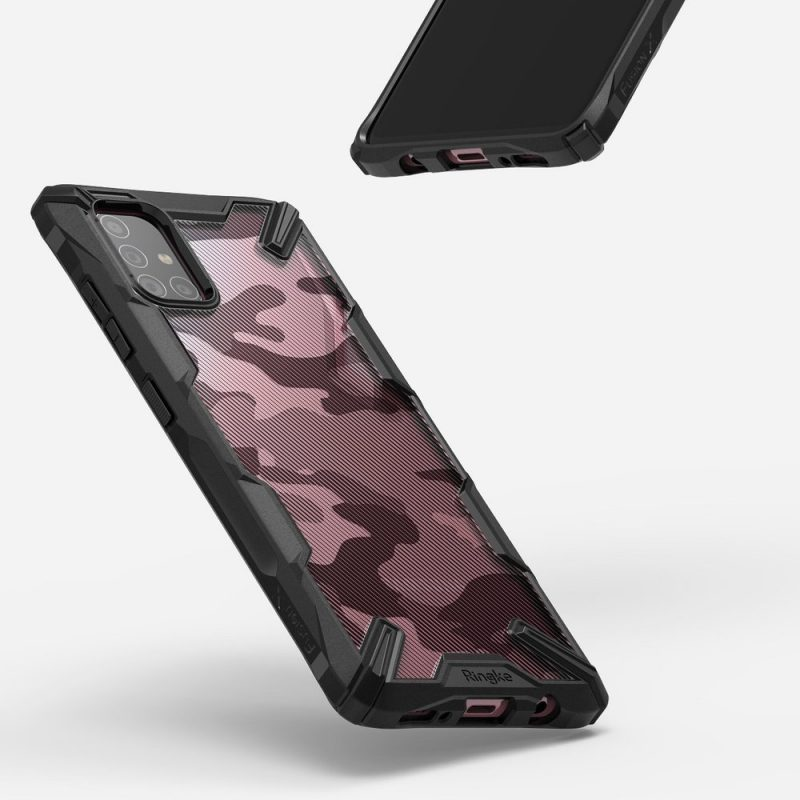 Fusion X Design kryt na Samsung Galaxy A71 Camo Black