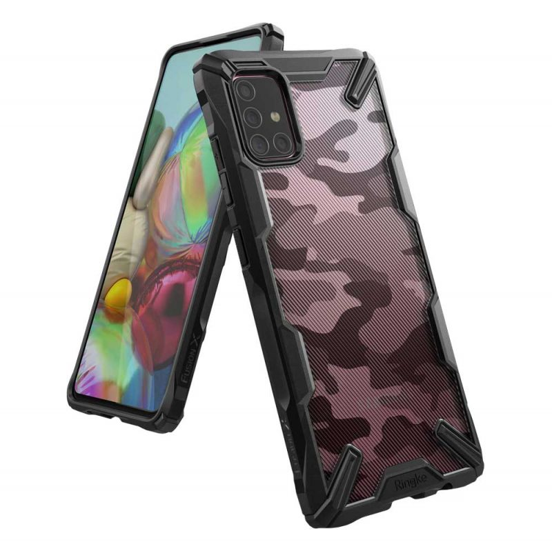 Fusion X Design kryt na Samsung Galaxy M31s Camo Black