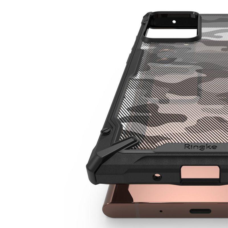 Fusion X Design kryt na Samsung Galaxy Note 20 Ultra Black
