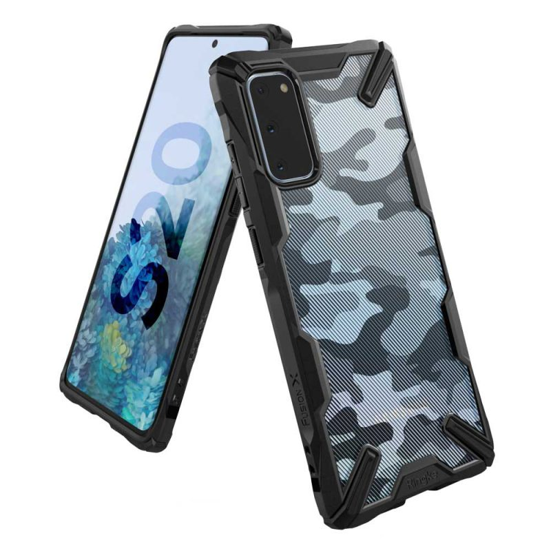 Fusion X Design kryt na Samsung Galaxy S20 Camo Black