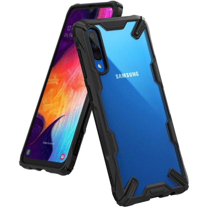 Fusion X Durable kryt na Samsung Galaxy A50 Black