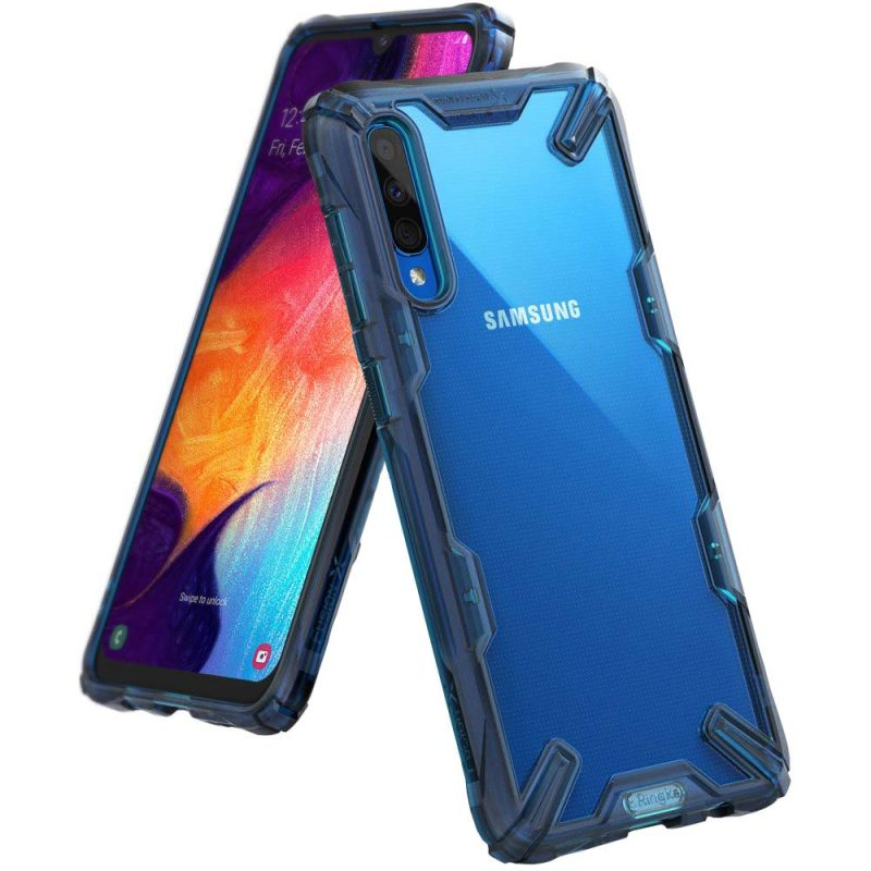 Fusion X Durable kryt na Samsung Galaxy A50 Blue