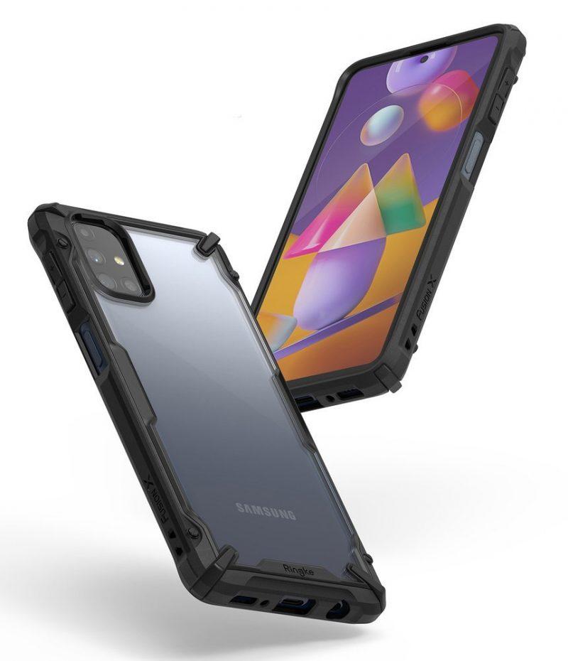 Fusion X Durable kryt na Samsung Galaxy M31s Black