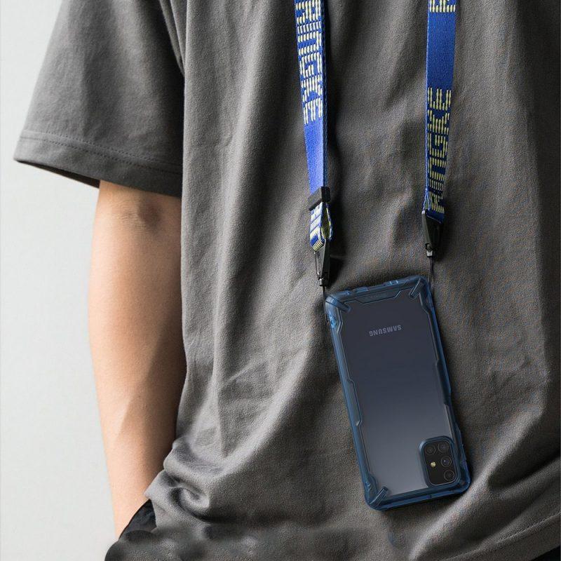 Fusion X Durable kryt na Samsung Galaxy M31s Blue