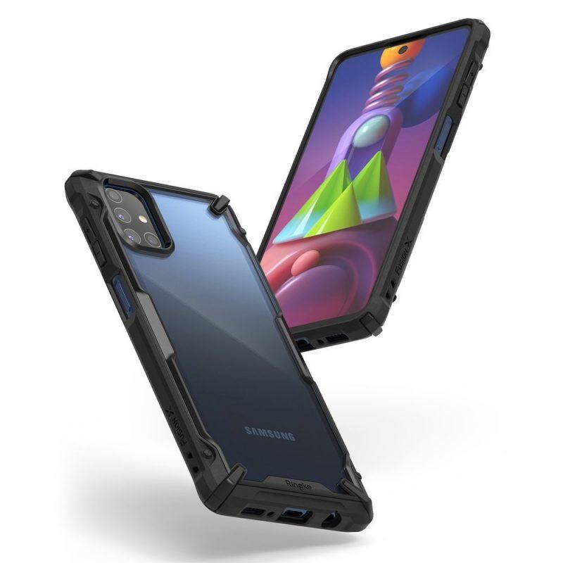 Fusion X Durable kryt na Samsung Galaxy M51 Black