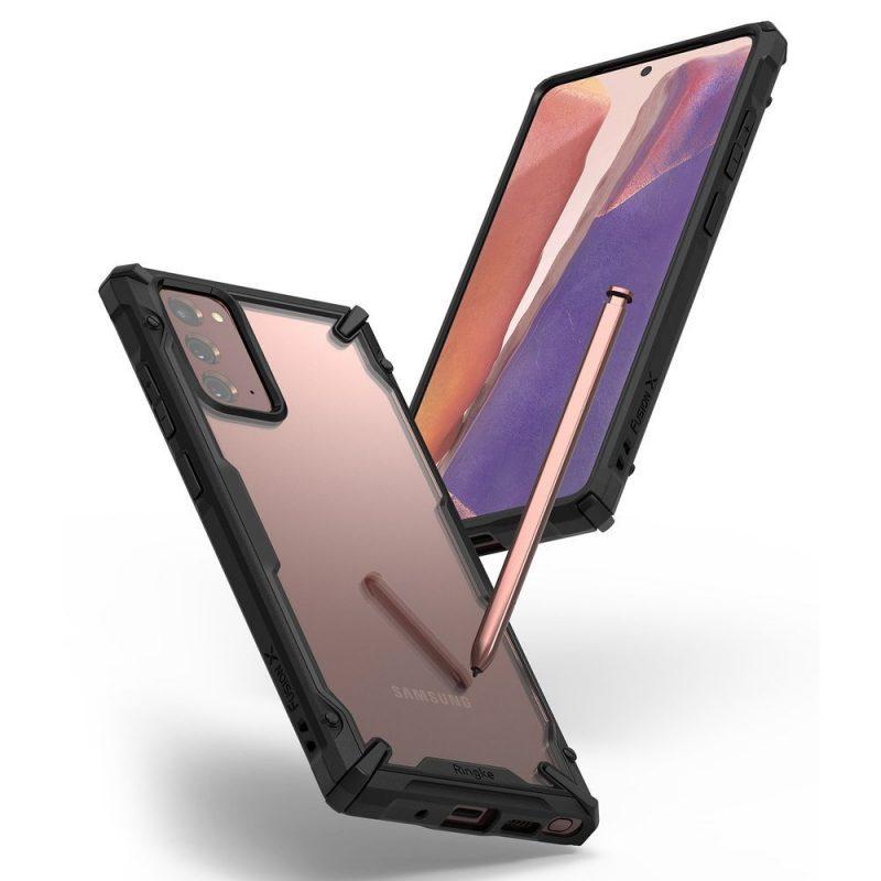 Fusion X Durable kryt na Samsung Galaxy Note 20 Čierny
