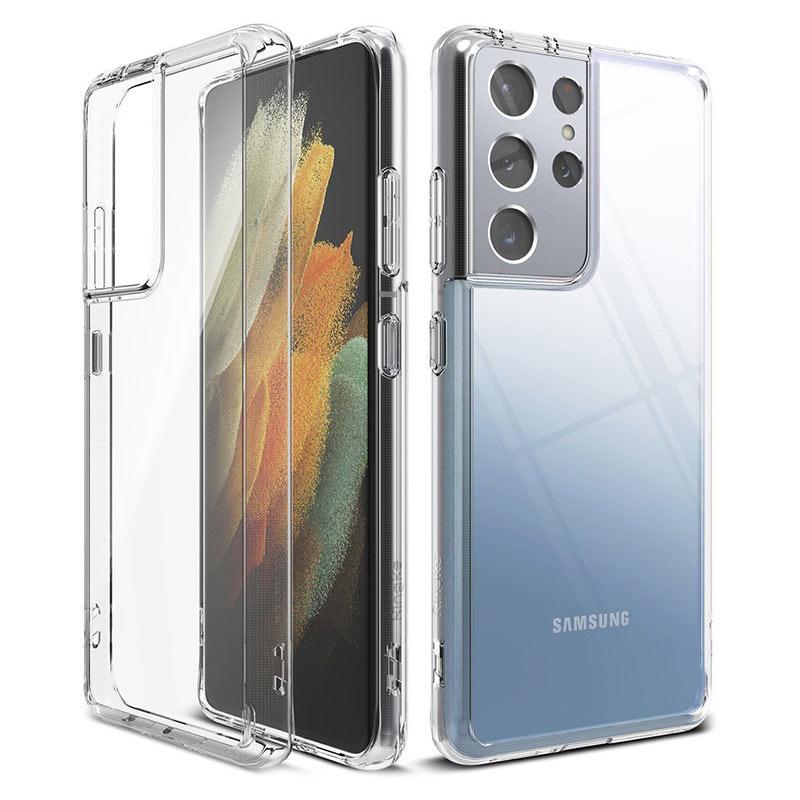 Fusion kryt na Samsung Galaxy S21 Ultra Priehľadný
