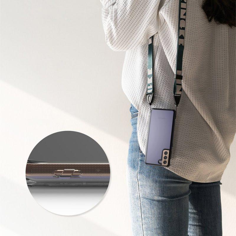 Fusion Matte kryt na Samsung Galaxy S21 Ultra Grey