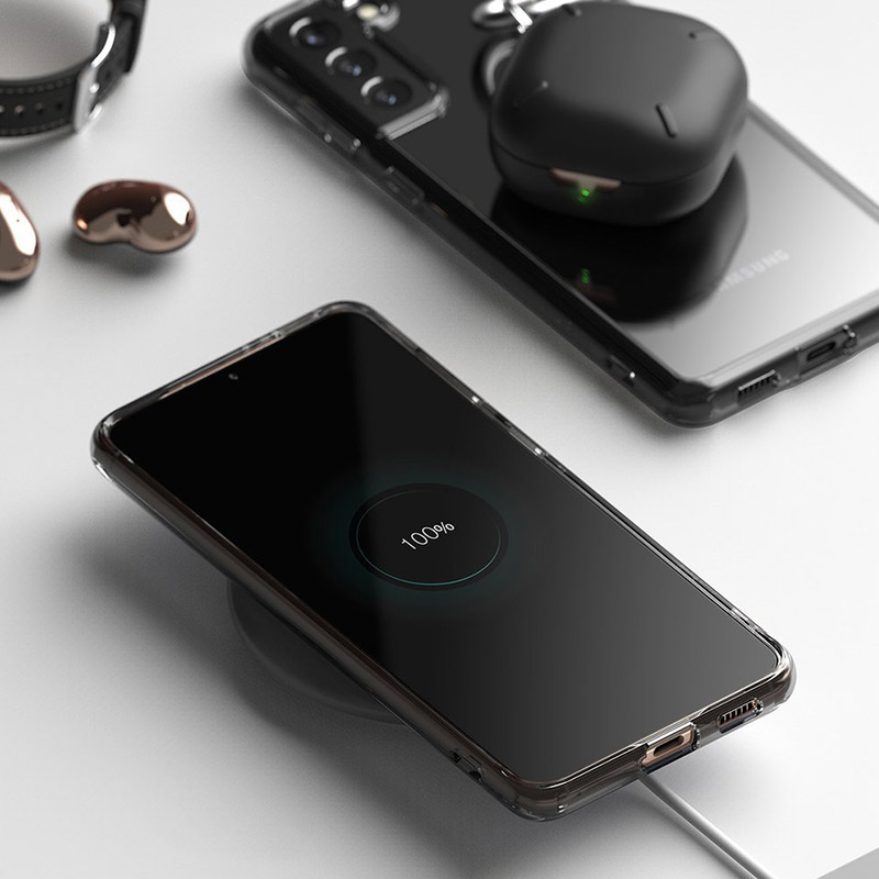 Fussion kryt na Samsung Galaxy S21 Plus Black