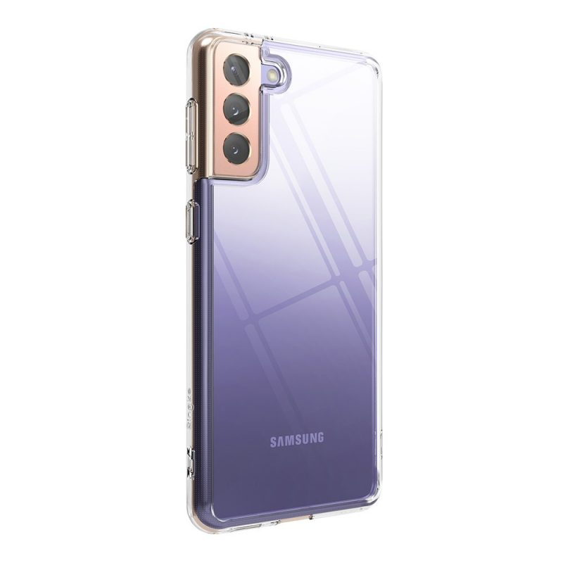Fusion kryt na Samsung Galaxy S21 Plus Transparent