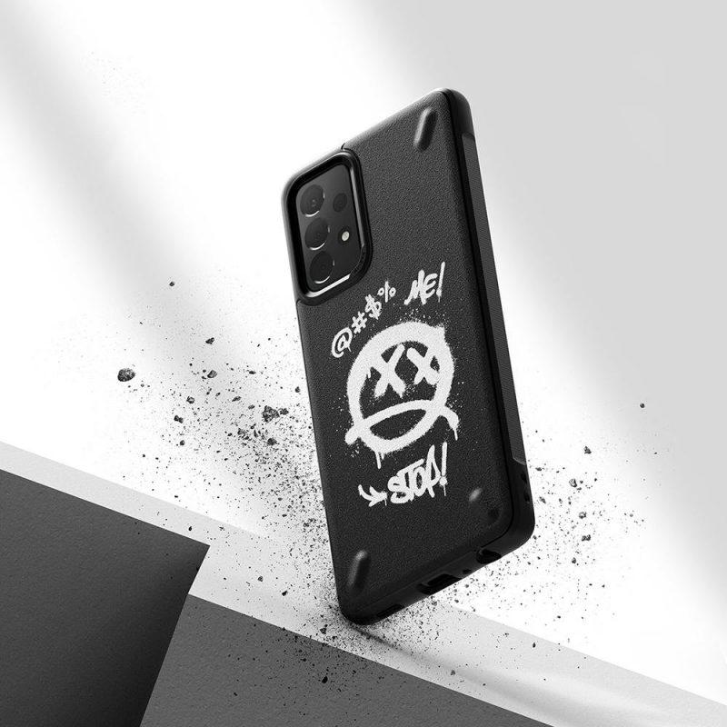 Kryt na Samsung Galaxy A52 Onyx Design Durable Graffiti