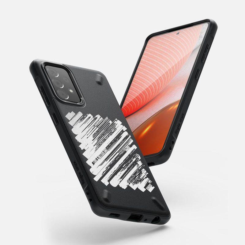 Kryt na Samsung Galaxy A52 Onyx Design Durable