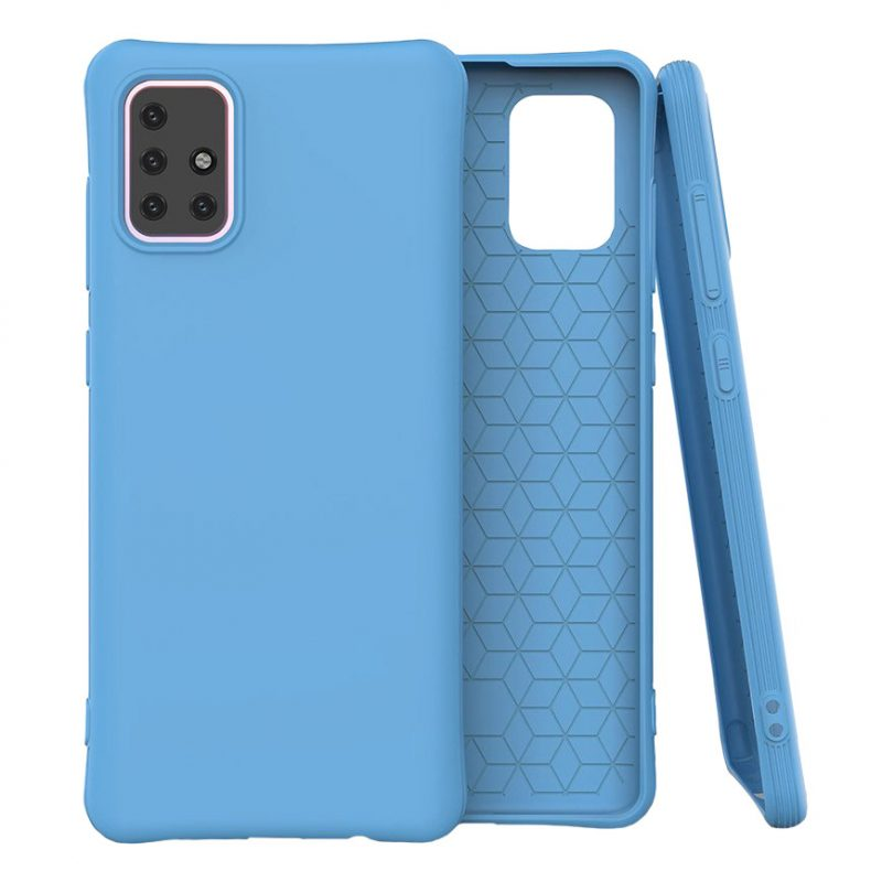 Kryt na Samsung Galaxy A71 Modrý