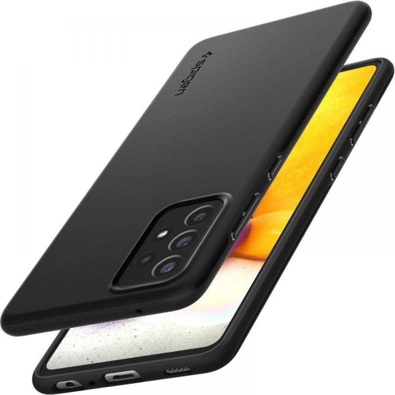 Kryt na Samsung Galaxy A72 Black Thin Fit
