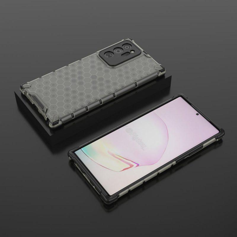 Kryt na Samsung Galaxy Note 20 Honeycomb Black