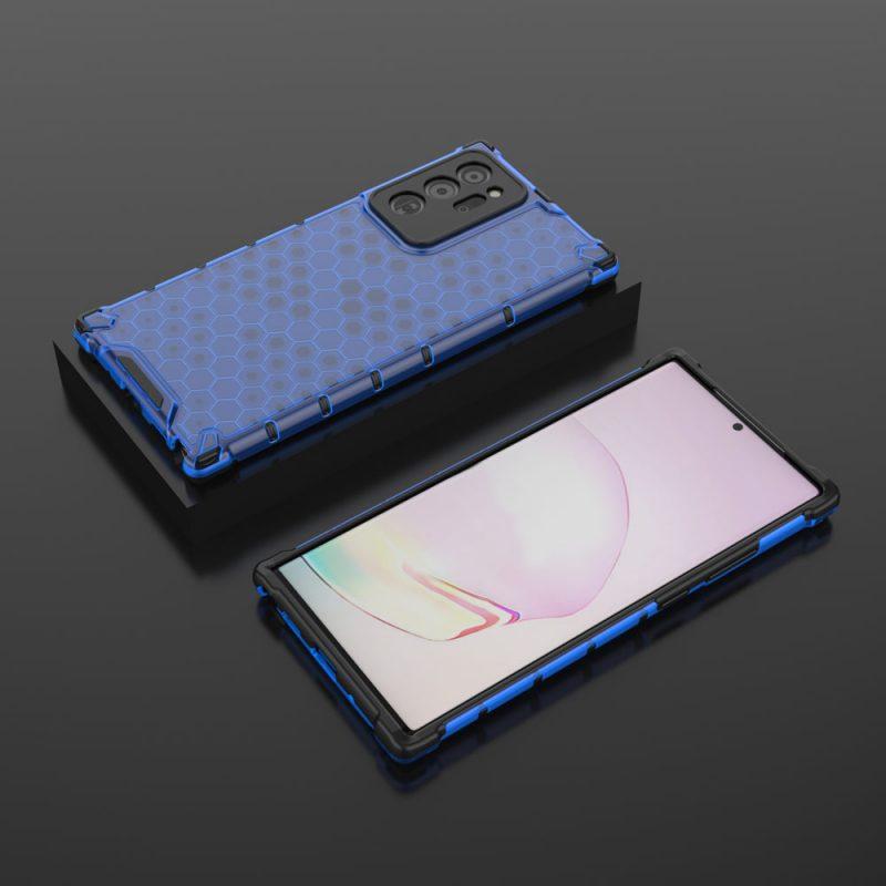 Kryt na Samsung Galaxy Note 20 Honeycomb Blue