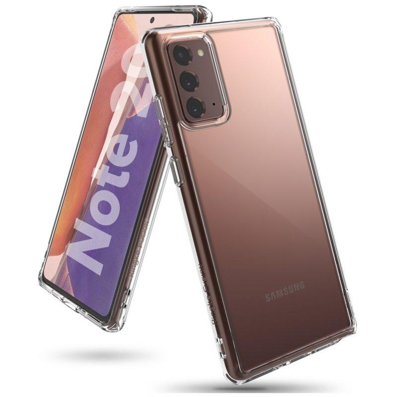 Kryt na Samsung Galaxy Note 20 Transparent