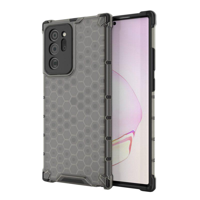 Kryt na Samsung Galaxy Note 20 Ultra Honeycomb Black