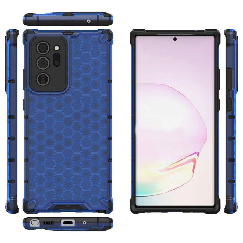 Kryt na Samsung Galaxy Note 20 Ultra Honeycomb Blue