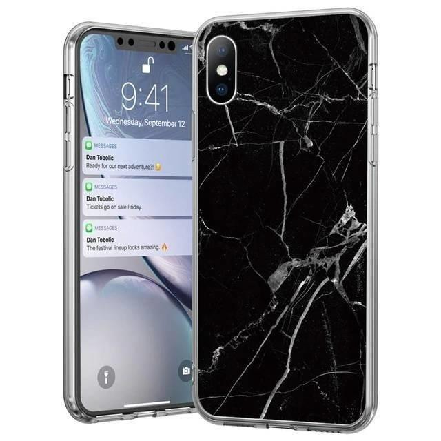 Kryt na Samsung Galaxy S21 Ultra Black Marble