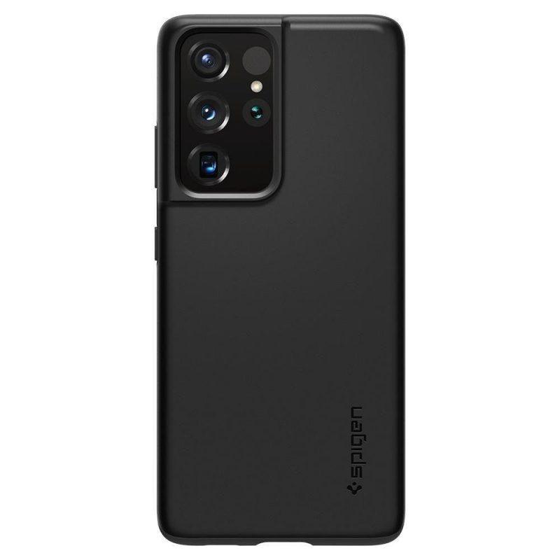 Kryt na Samsung Galaxy S21 Ultra Black Thin Fit