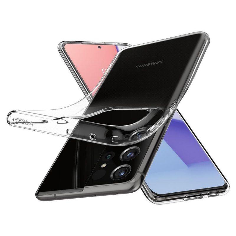 Kryt na Samsung Galaxy S21 Ultra Crystal Clear