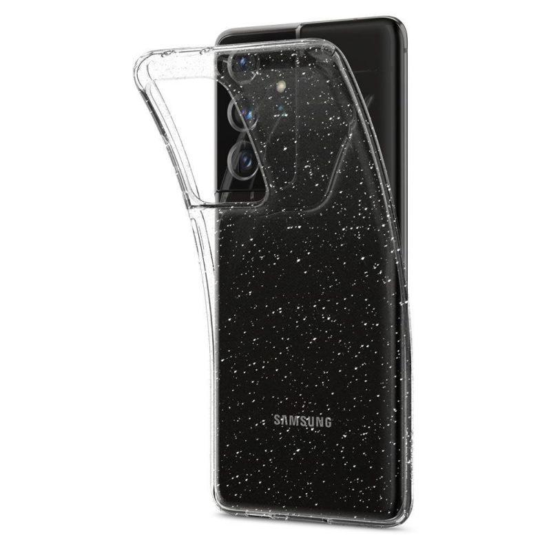 Kryt na Samsung Galaxy S21 Ultra Glitter Crystal
