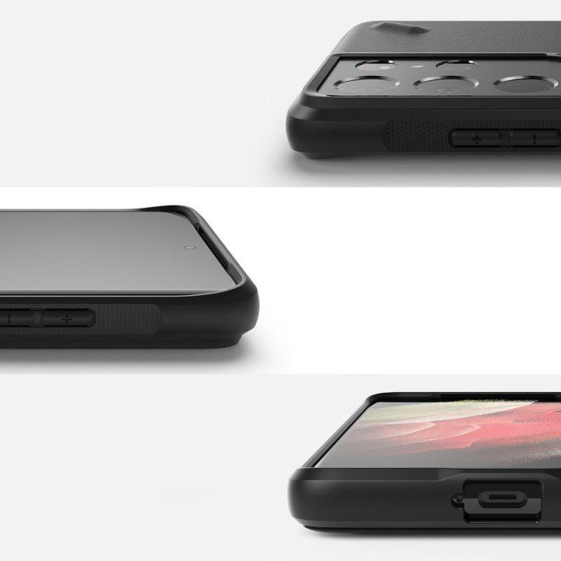 Kryt na Samsung Galaxy S21 Ultra Onyx Design Durable Paint