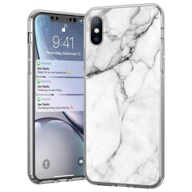 Kryt na Samsung Galaxy S21 Ultra White Marble