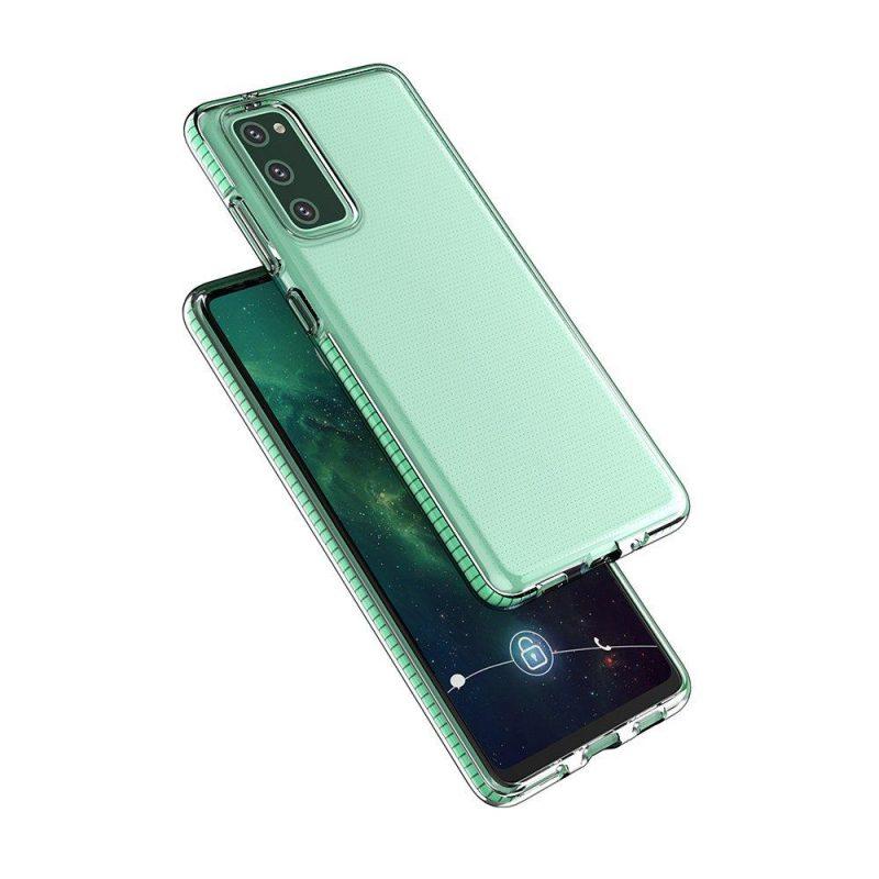 Kryt na Samsung Galaxy S21 Ultra so Zeleným rámom