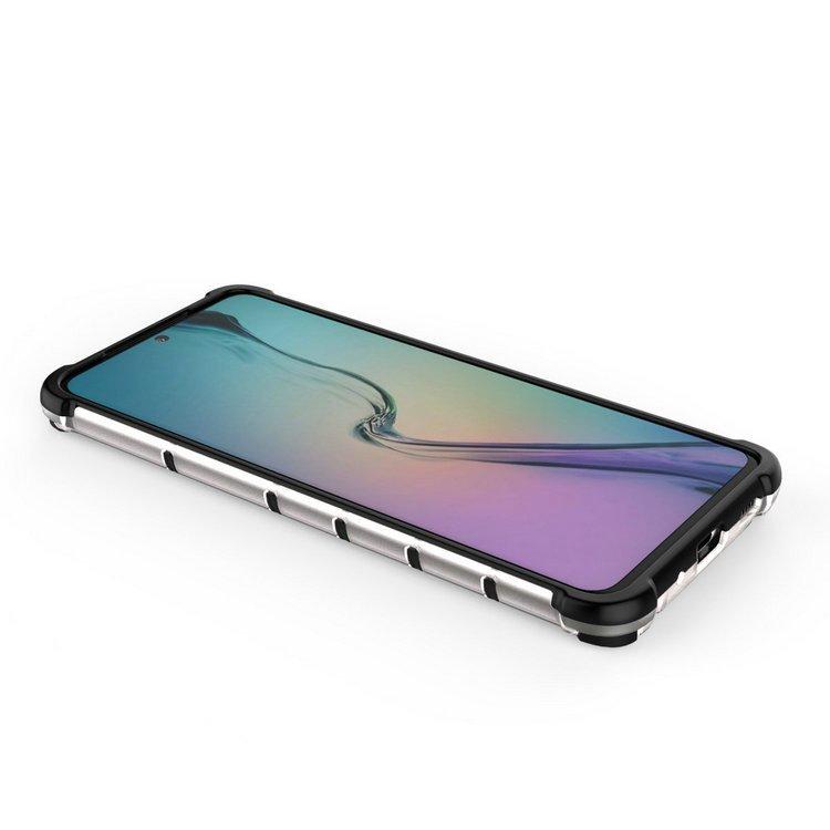 Kryt na Samsung Galaxy S20 Ultra Honeycomb Transparent