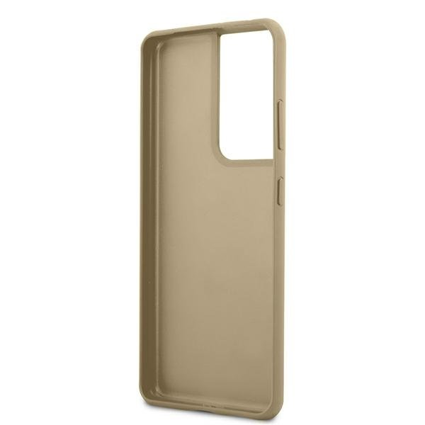 Guess kryt na Samsung Galaxy S21 Ultra Brown Hardcase
