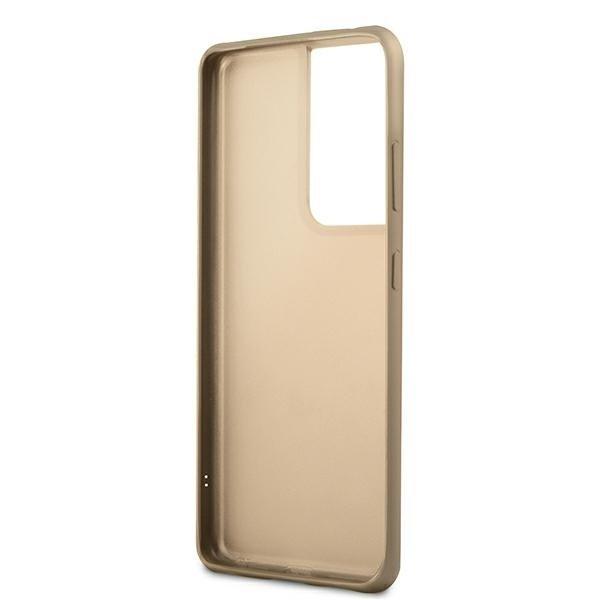 Guess kryt na Samsung Galaxy S21 Ultra Grey Hardcase